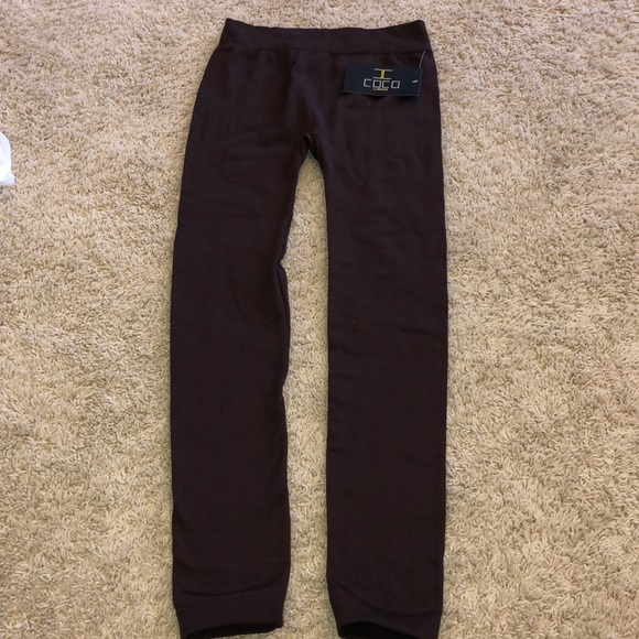 COCO limon Pants - Warm brown tights
